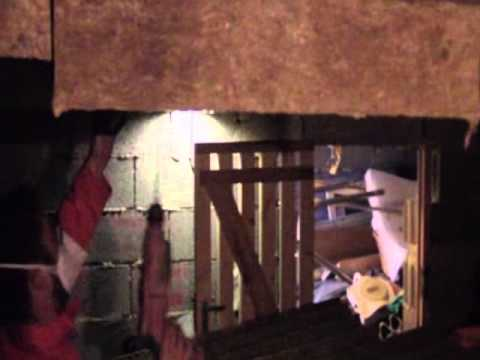 Isolation vide sanitaire garage par panneaux rapportes sous dalle youtube - Isolation sous vide sanitaire ...