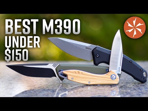 Best M390 Steel Folding Knives Under $150 In 2019 At KnifeCenter.com