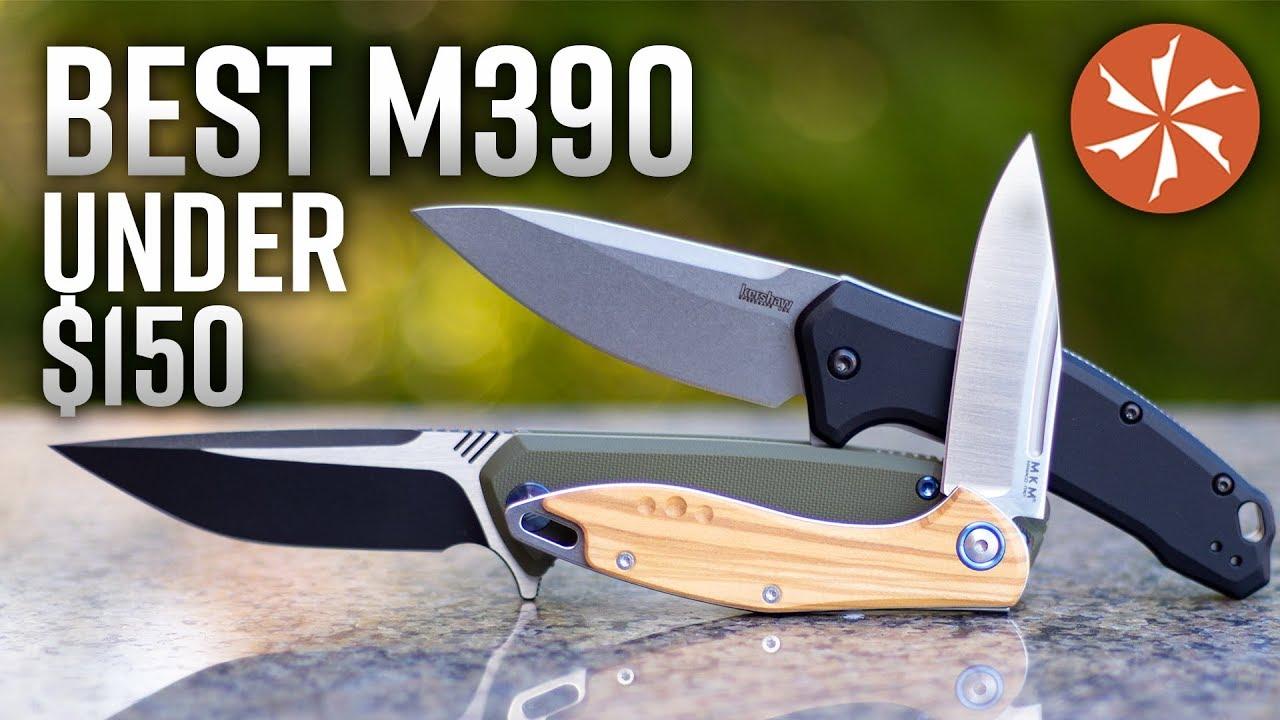 Download Best M390 Steel Folding Knives Under $150 in 2019 at KnifeCenter.com