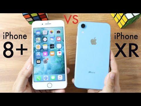 iphone xr vs 8 plus camera