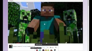 как создать арт с вашим скином Minecraft за 2 минуты? - Просто! :)