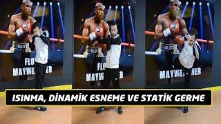 Isınma, dinamik esneme, statik germe / Kick boksta ısınma / Kick boks ısınma koşusu / Egzersiz