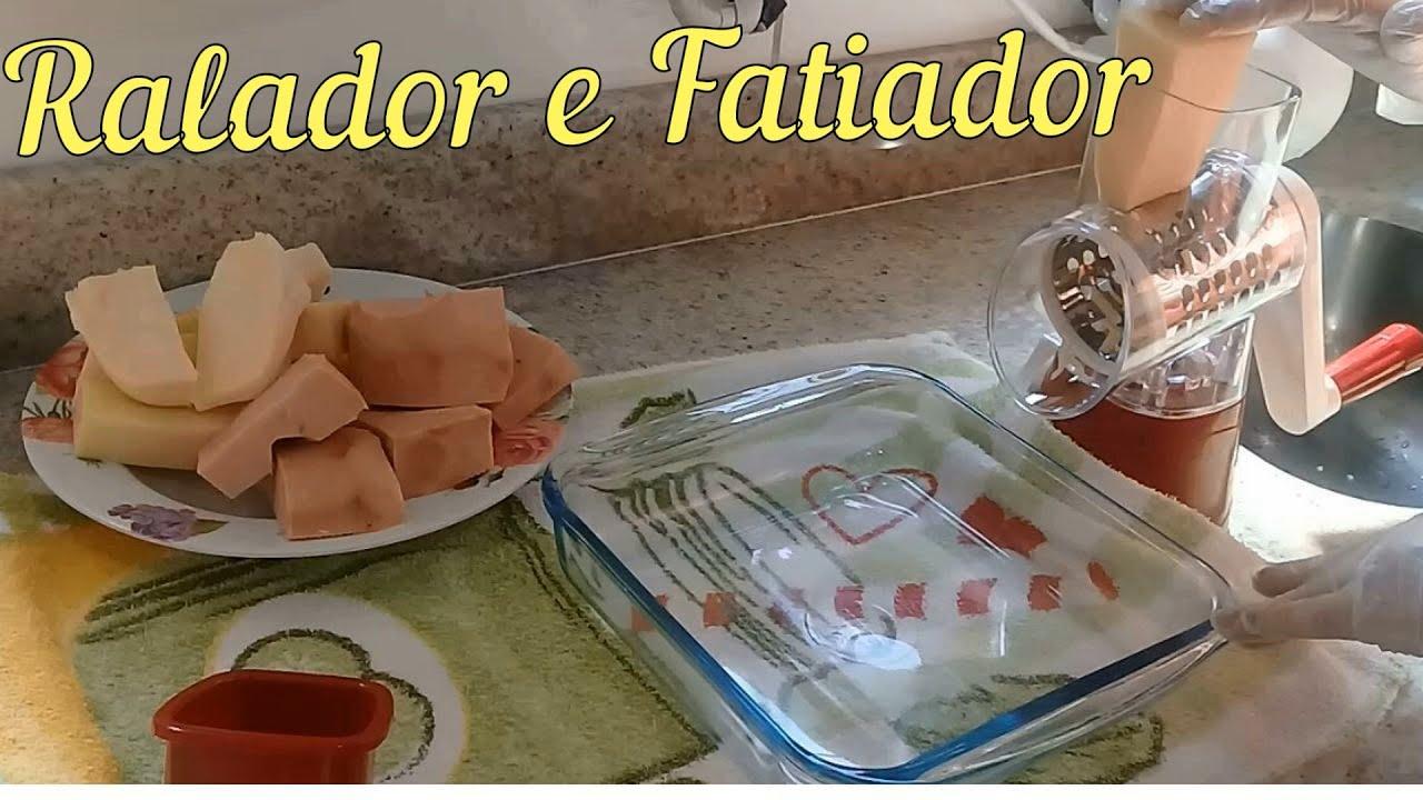 Confira Ralador Fatiador praticidade para sua Cozinha