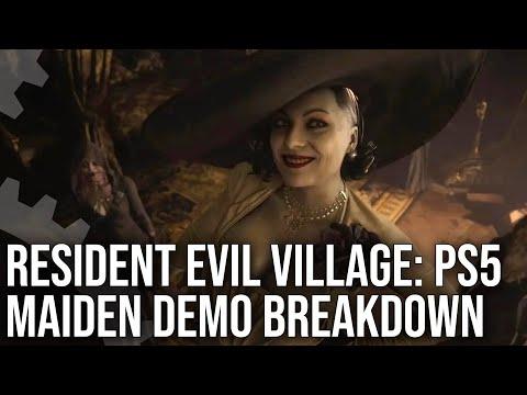 Resident Evil Village PS5 'Maiden' Demo Breakdown - First Look At Resident Evil 8!