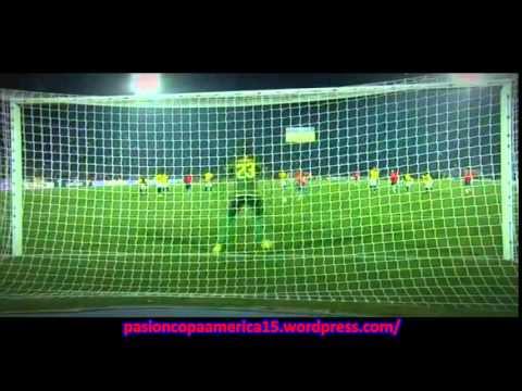 Chile 2-0 Ecuador (Radio Columbia) - Copa América 2015