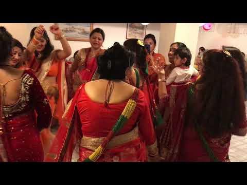 Teej Dance in USA. thumbnail