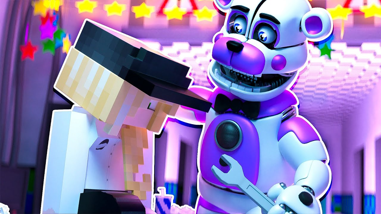 Fixing The Security Guard   Minecraft Five Nights at Freddy's Roleplay