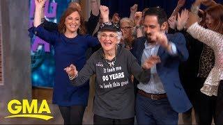Meet the 96-year-old 'Dancing Nana' who still breaks it down on the dance floor
