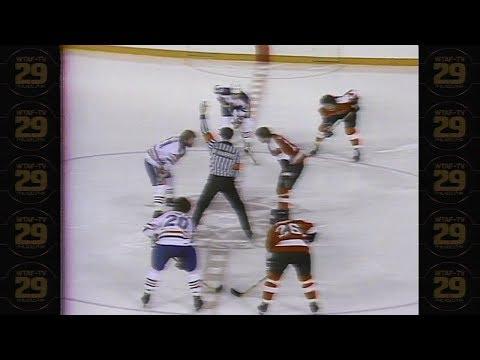 Flyers vs Edmonton Oilers 1980 WTAF