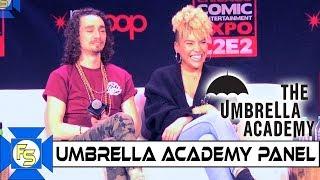 Umbrella Academy Actor Panel - C2e2 2020