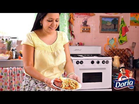 Ensalada con pasta de Tornillos Doria a la Claudia Torres