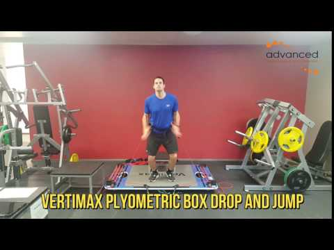 VERTIMAX PLYOMETRIC BOX DROP AND JUMP