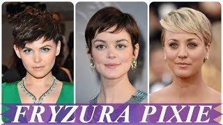 Modne fryzura typu pixie 2018