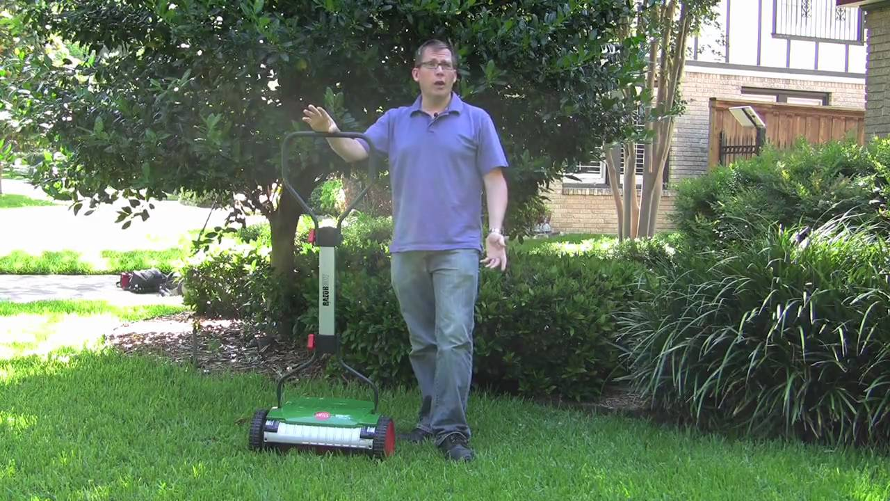 Brill Razorcut 38 Push Reel Lawn Mower Product Review Doovi