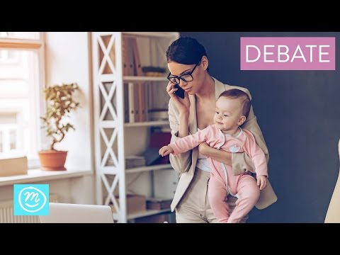 Stay At Home Or Working Mum? | Debate from Channel Mum