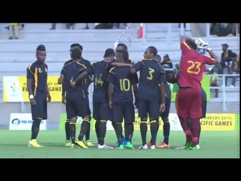 Pacific Games  2015 Football Fiji vs Vanuatu Olympic Qualifiers