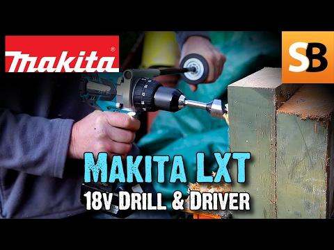 Makita LXT DHP481 Drill & Impact Driver BTD129