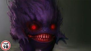 Top 10 Most Horrifying Pokemon