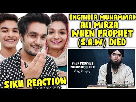 Download Indian Reaction   DEATH OF PROPHET MUHAMMAD ﷺ   Engineer Muhammad Ali Mirza Reaction