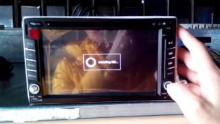 android 2 din car receiver how to install igo map