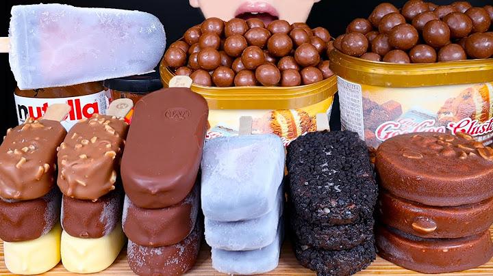 ASMR MALTESERS MAGNUM CHOCOLATE ICE CREAM DESSERT PARTY MUKBANG 초콜릿 디저트 먹방 チョコレート 咀嚼音 EATING SOUNDS