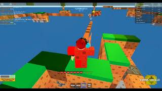 destroing the hole of roblox scy wars middle