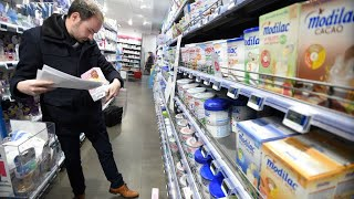 France: Stores admit to selling baby formula recalled over salmonella fears