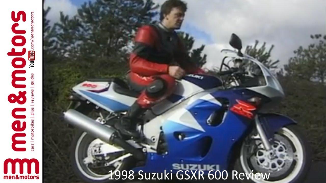 1998 Suzuki Gsxr 600 Review Youtube