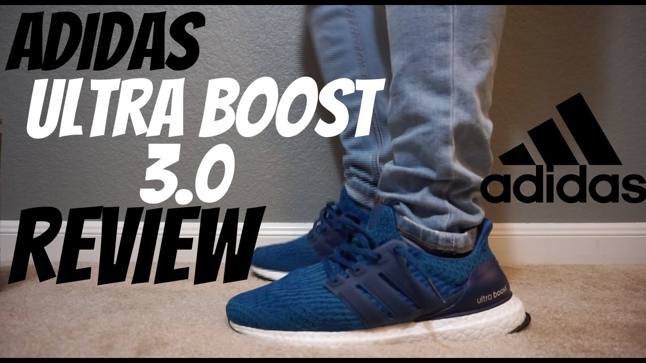 702d125c4919c Adidas Ultra Boost 3 0 Review  Royal Blue  - YouTube