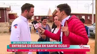 Rafa Araneda estuvo en inauguración de casas en Santa Olga - La Mañana (1/3)