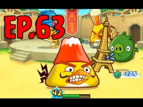 Angry Birds Fight! - ARENA CHUCK MASTER CUP - GOLDEN THUNDER STAFF PRIZE - EP63