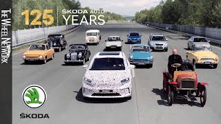 125 years of Skoda