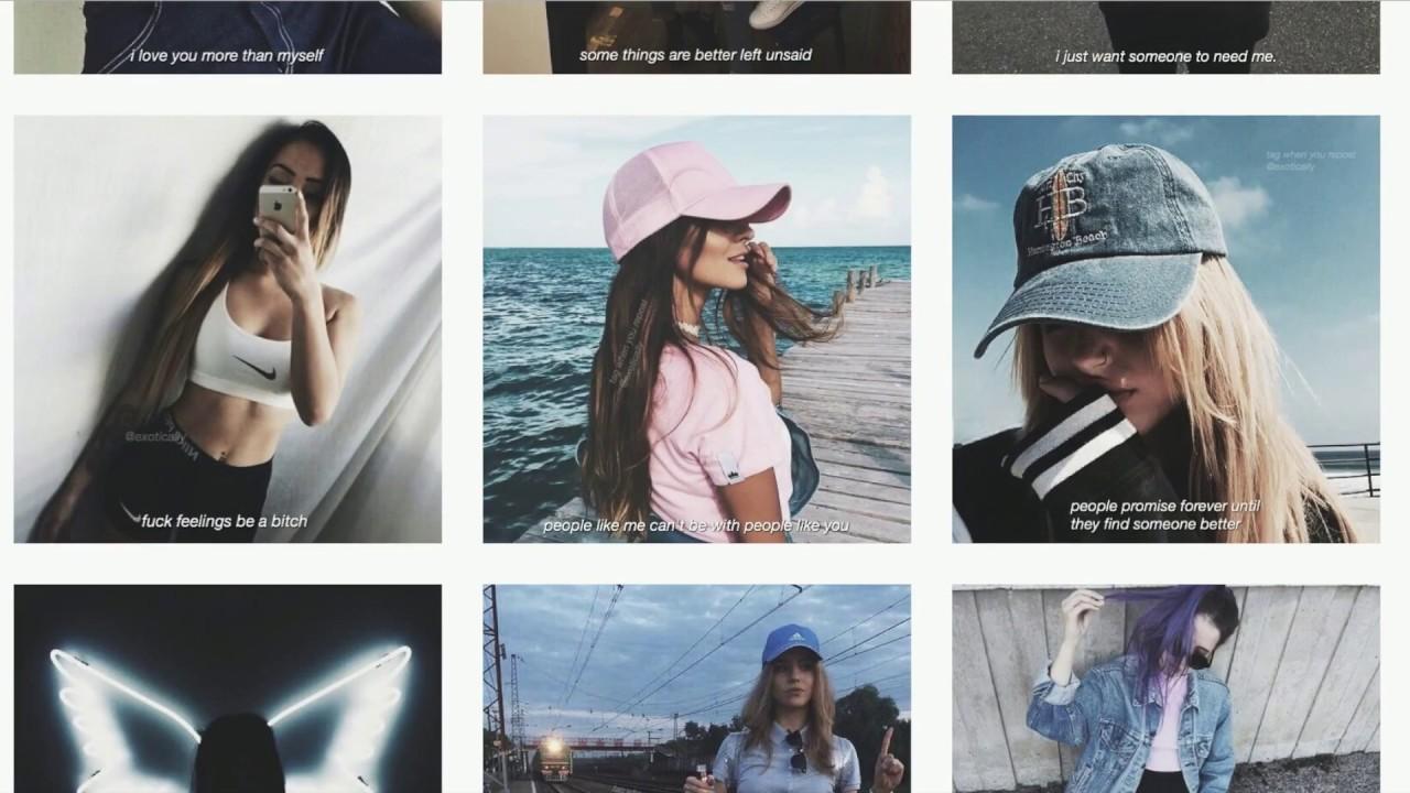 Five Tumblr Instagram Account With Quotes Secret Mermaid Tutorial
