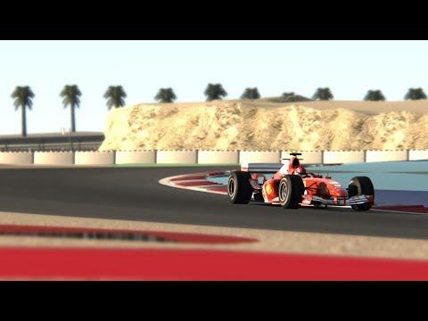 F1 2004 Hot Lap Onboard @ Bahrain Assetto Corsa