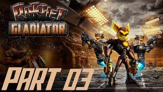 Let's Play Ratchet Gladiator #03 [Deutsch/BLIND/HD] In ShellShocks Revier