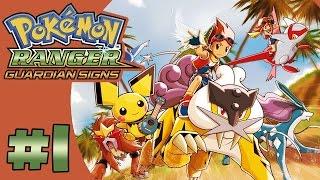 Pokémon Ranger Trazos de Luz Ep.1 - VAYA COMIENZO DE JUEGO!!