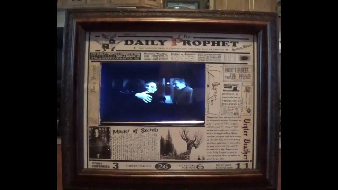 Crystal Wolf Digital Frame Art - Daily Prophet - YouTube
