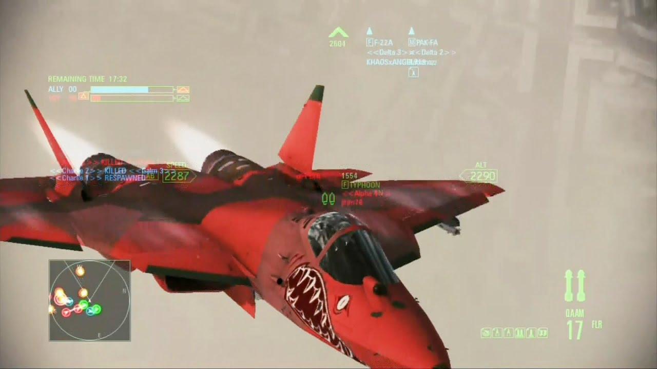 Infinity Sign Wallpaper Hd Ace Combat Assault Horizon Capital Conquest T 50 Pak Fa
