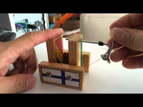Making a micro coil JIG