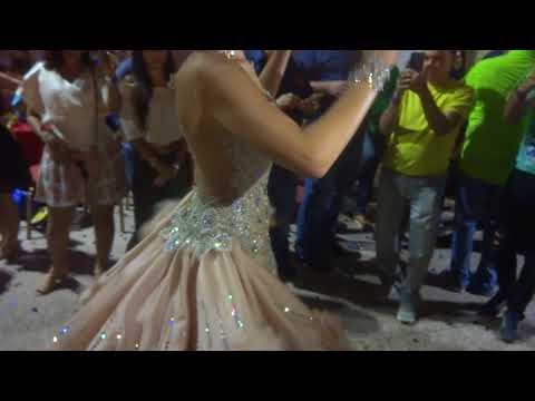 Octubrino 2017 Tuna segundo vestido Ana Victoria Castillo Calle arriba Las Tablas