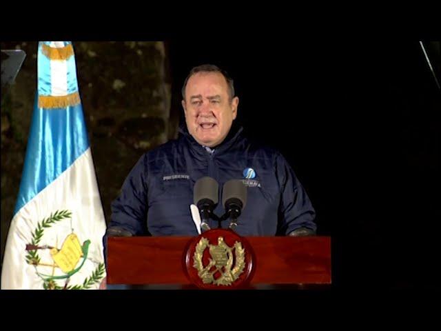Discurso del presidente Alejandro Giammattei por inicio de actividades del Bicentenario