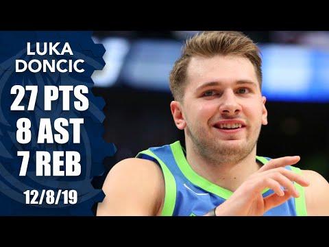 Luka Doncic passes Michael Jordan in consecutive 20-5-5 games vs. Kings | 2019-20 NBA Highlights