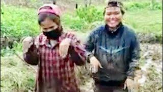 Khi 2 Cô Gái Lầy Lội Nhất Trong Giờ Làm Ruộng | Điệu Nhảy Siêu Dễ Thương