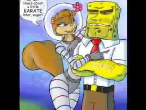 spongebob and sandy fuck