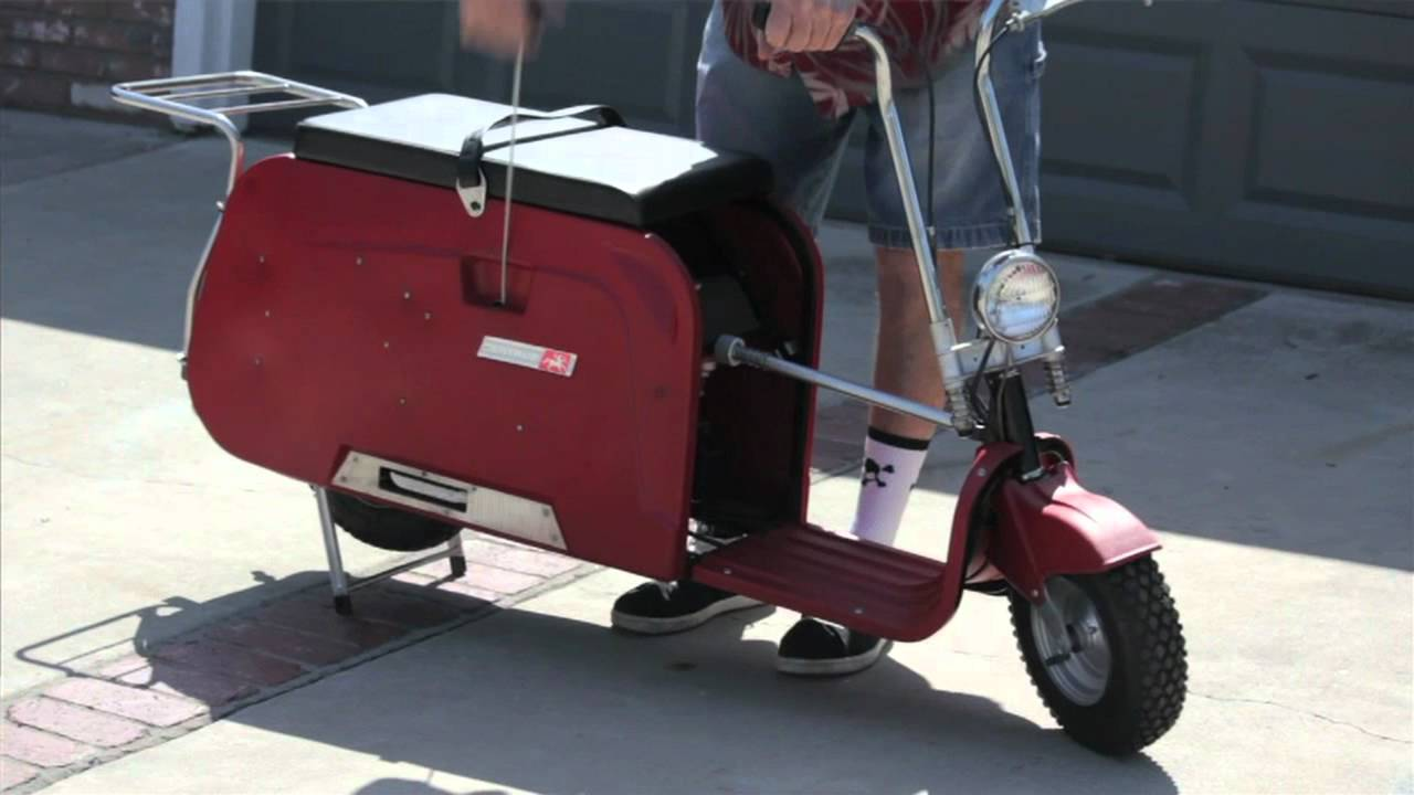 Costa Mesa Honda >> Folding Scooter 1960 Centaur - YouTube