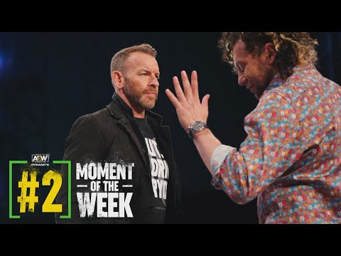 What Happened When Christian Cage and Kenny Omega Came Face to Face? | AEW Dynamite