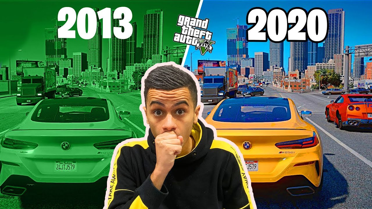 GTA 5 2013 VS GTA 5 2020 : EVOLUTION !
