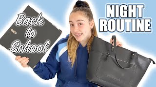 BACK TO SCHOOL  NIGHT ROUTINE  Lilybakes