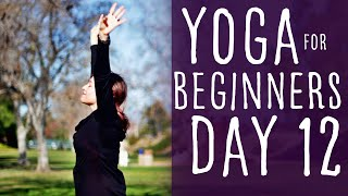 16 Minute Yoga For Beginners 30 Day Challenge Day 12 With Fightmaster Yoga