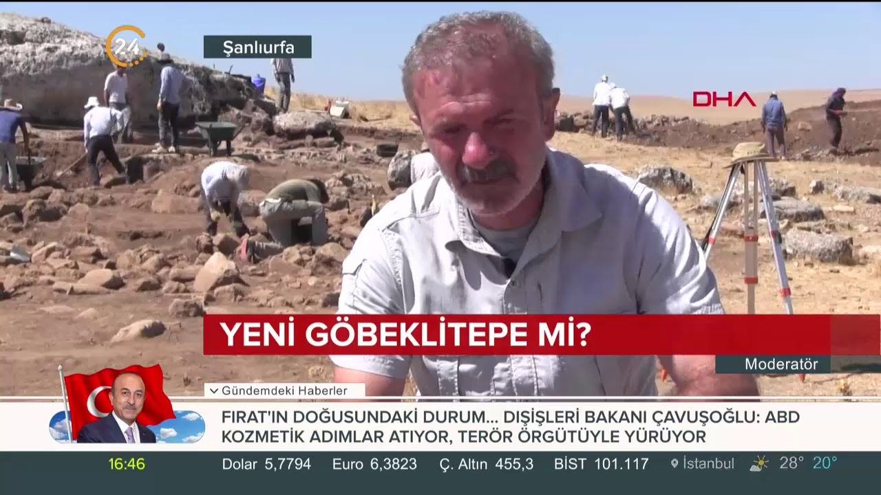 #Göbeklitepe'den sonra Şanlıurfa'da #Karahantepe heyecanı